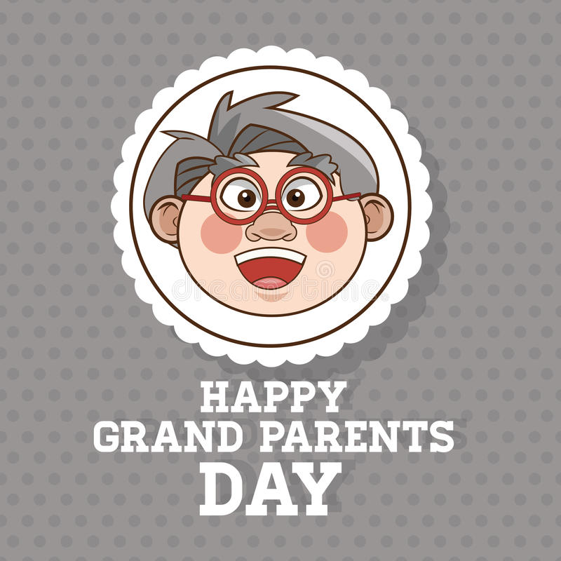 Grandparents design, people vector. Grandparents concept with old people design, vector illustration 10 eps graphic vector illustration