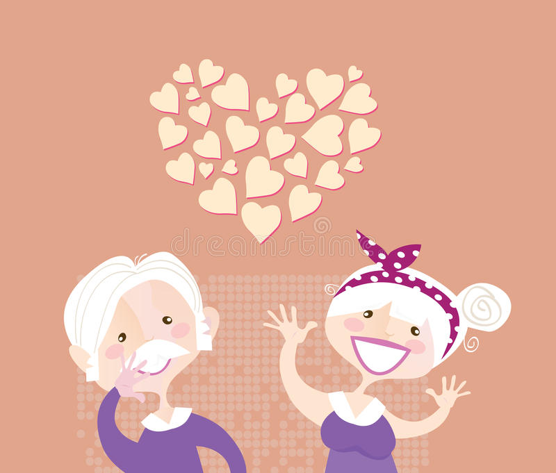 Download Grandparents Ethernal Love Royalty Free Stock Photos - Image: 11573748
