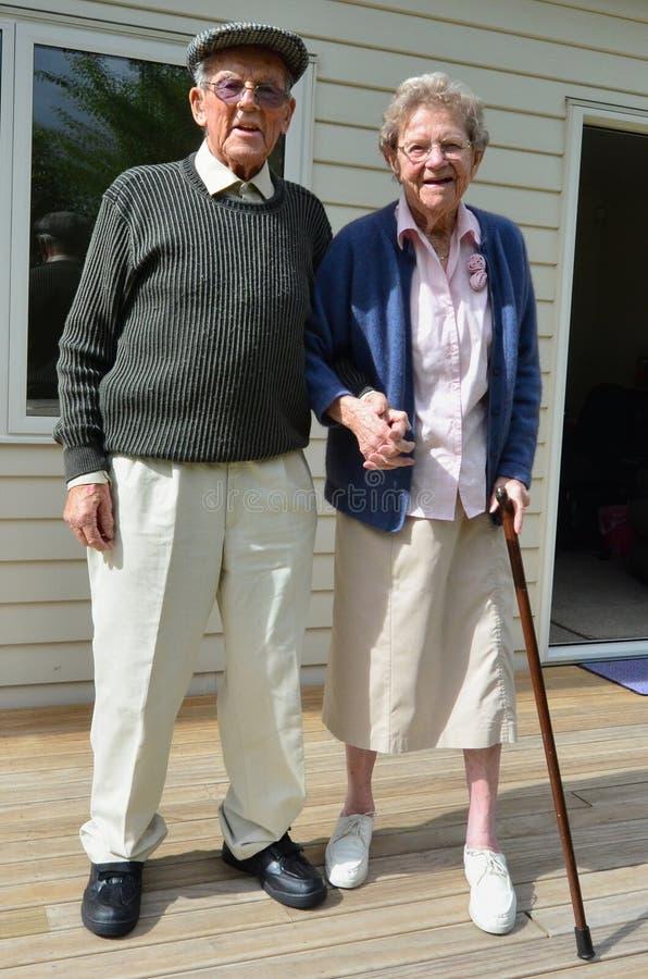 Grandparents - relacionamento imagens de stock royalty free