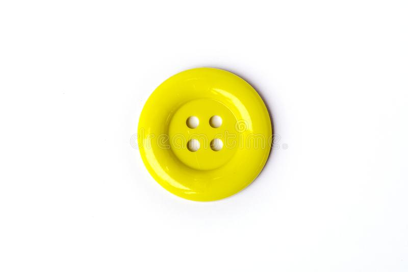 Grands boutons de couleurs jaunes vives images libres de droits