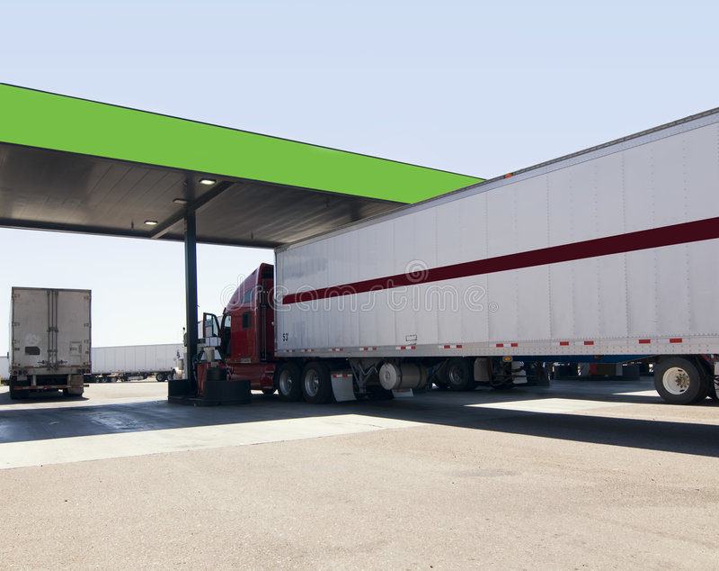 Grands camions   images libres de droits