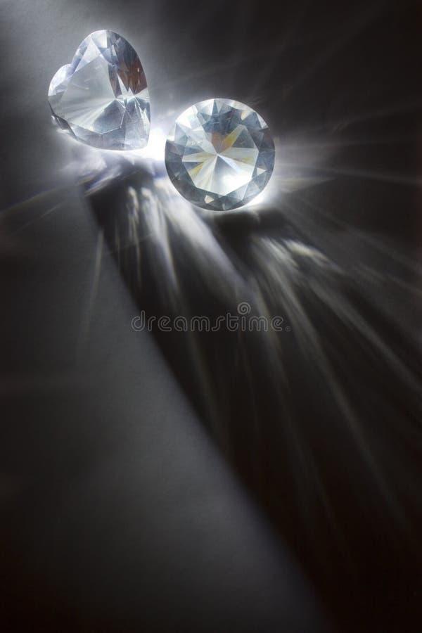 Grands diamants image libre de droits
