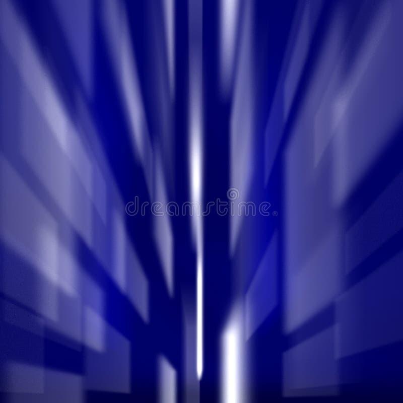 Grands dos bleus colorés illustration de vecteur