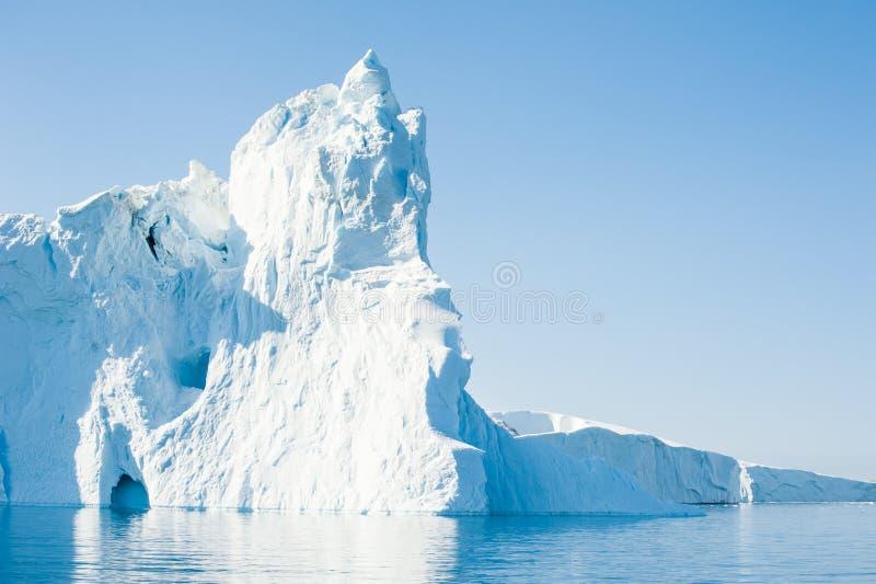 Grands icebergs au Groenland photo libre de droits