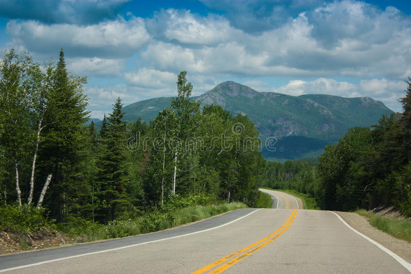 Grands-Jardins National Park in Quebec Canada royalty free stock photo