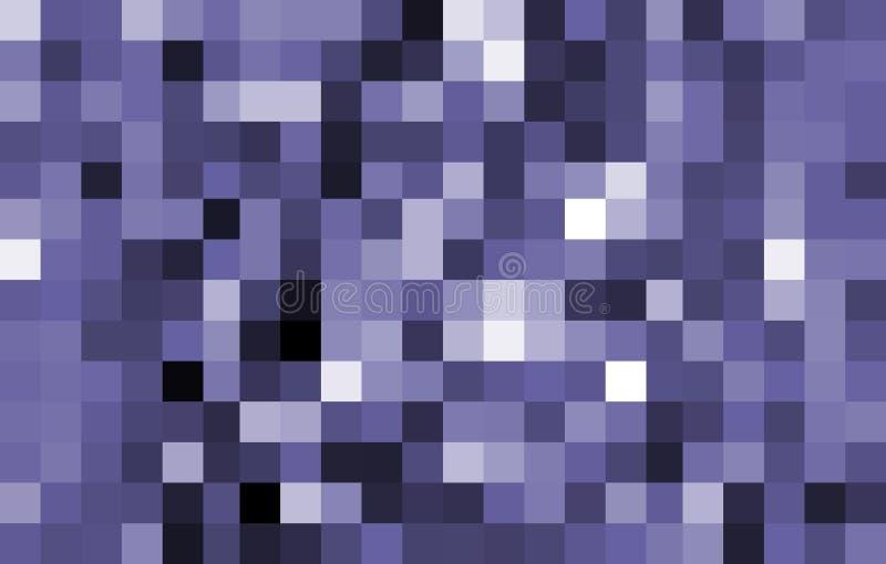 Grands Pixel bleus de son. illustration de vecteur