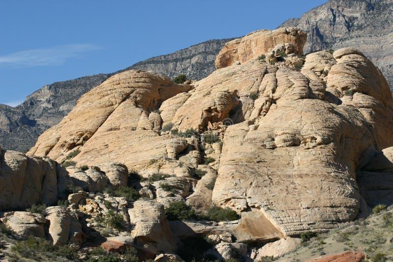 Grands roches et ciel photographie stock libre de droits