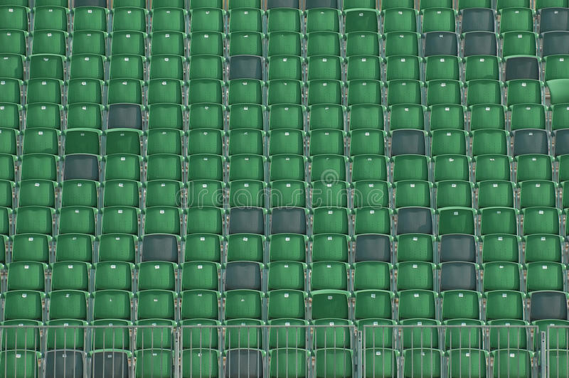 Grandstand seating. Background empty stadium grandstand seating stock image