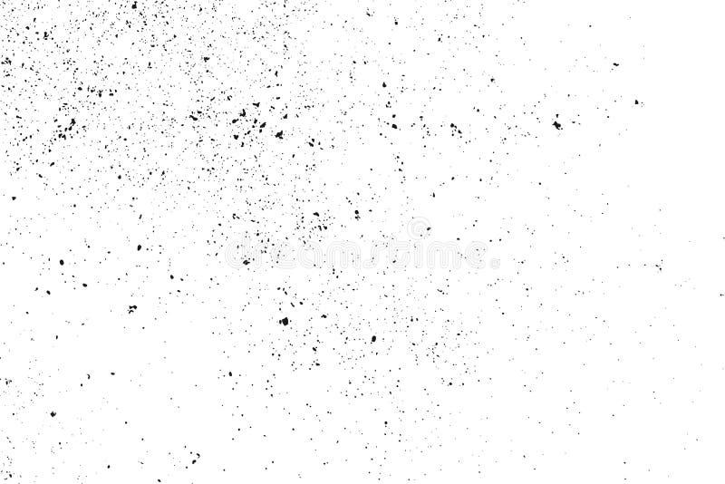 Granelli scuri di rumore illustrazione di stock