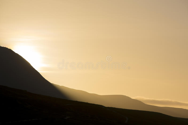 Granen Sabana i morgonljuset - Venezuela royaltyfri foto