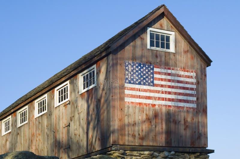Granero americano imagenes de archivo
