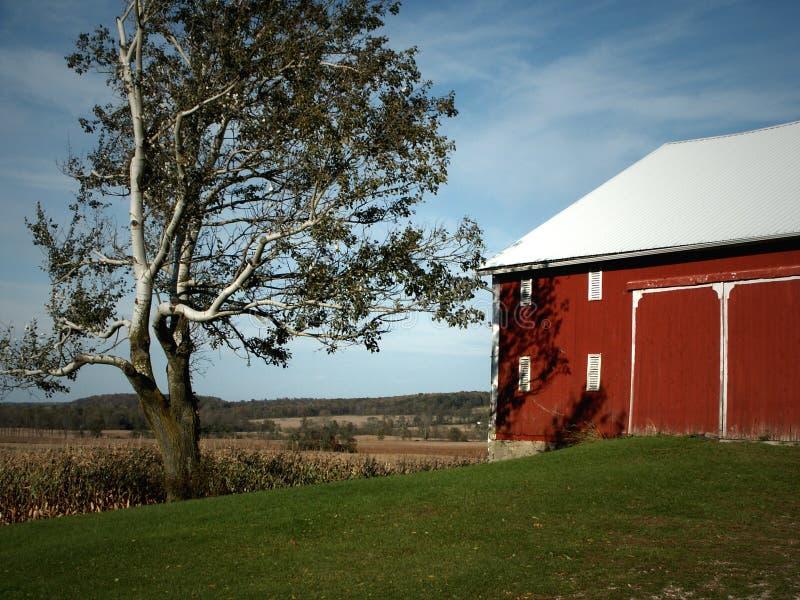 Granero de Ohio imagenes de archivo