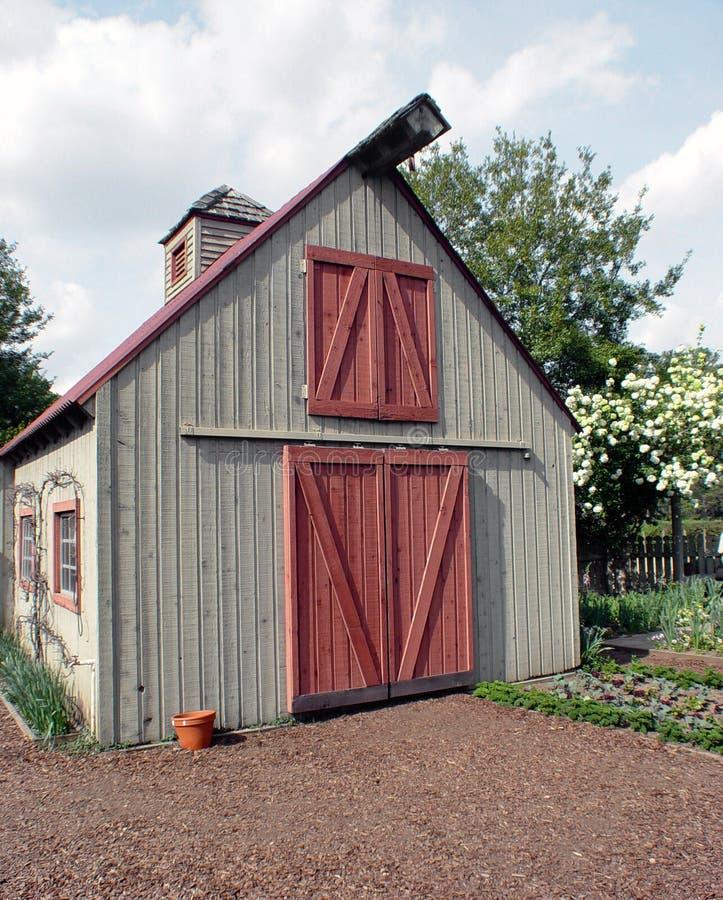 Granero del jardín fotos de archivo libres de regalías