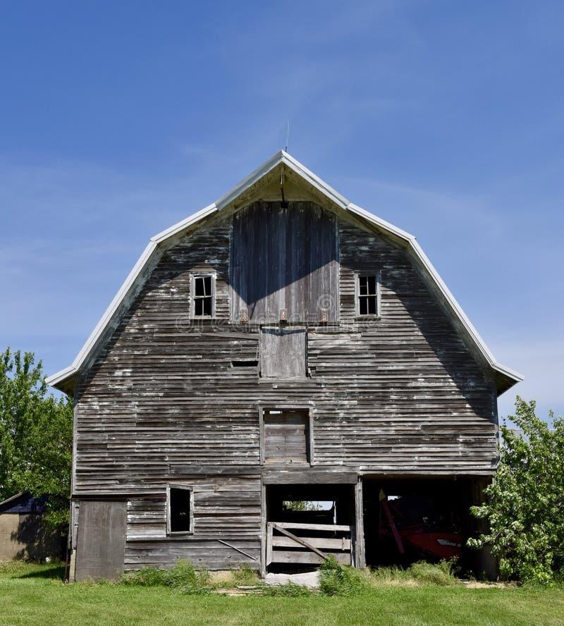 Granero viejo del condado de Lasalle fotografía de archivo