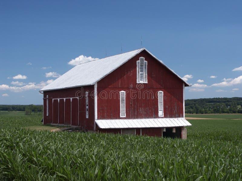 Grange de l'Ohio photographie stock libre de droits