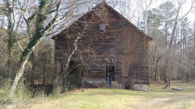 Grange de plantation d'Edgewood photo stock