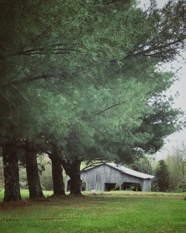 Grange du Kentucky photographie stock libre de droits