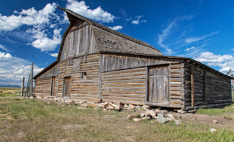 Grange du Wyoming image stock