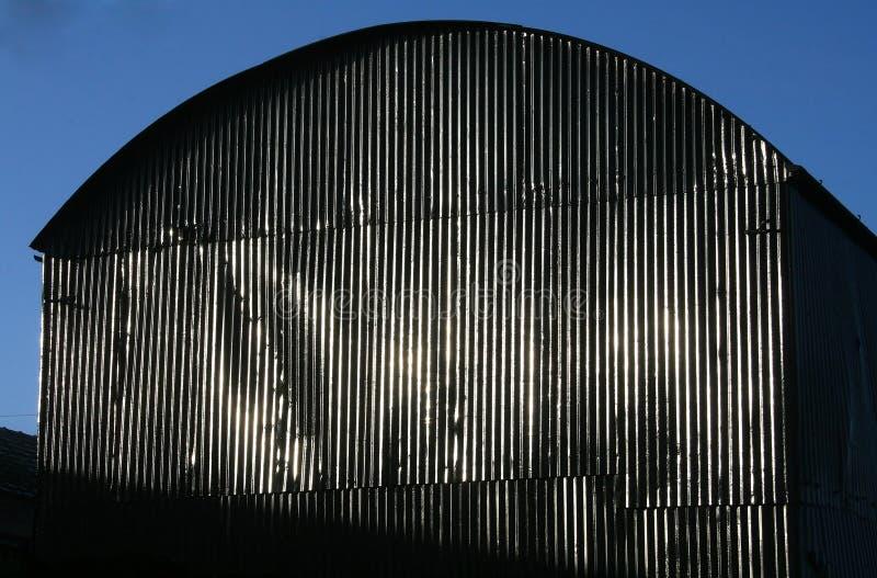 Grange en acier photographie stock