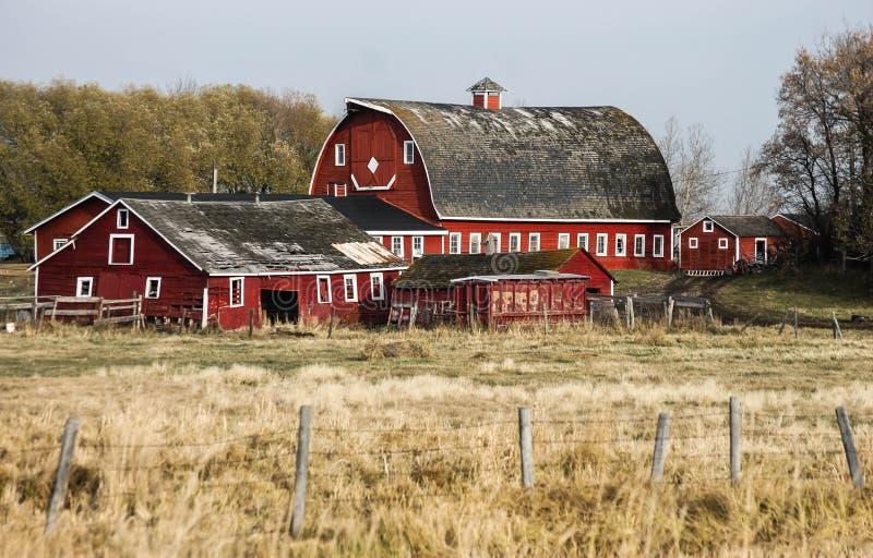 Grange et bâtiments photos stock