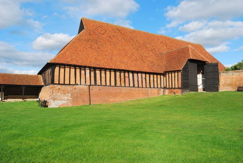 Grange médiévale photo stock
