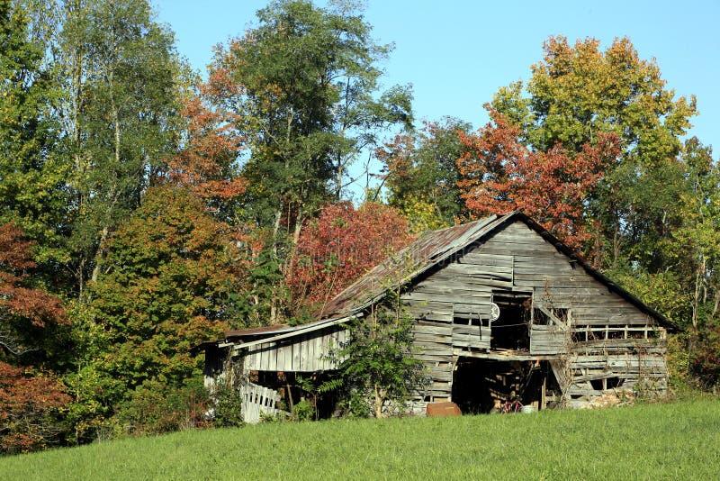 Grange rurale Tennessee image libre de droits