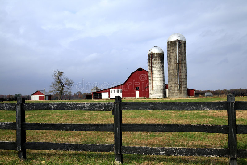 Grange rurale Tennessee photographie stock