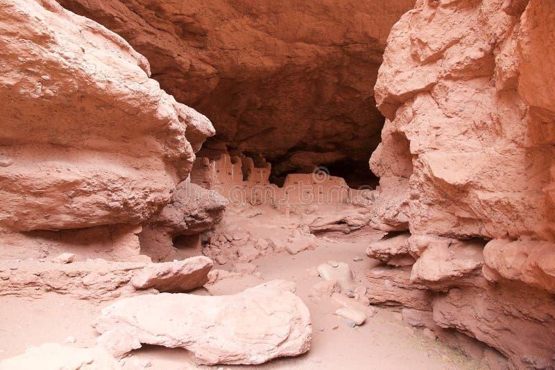 Granges d'Inca le long de la vallée de Calchaqui, Argentine image libre de droits