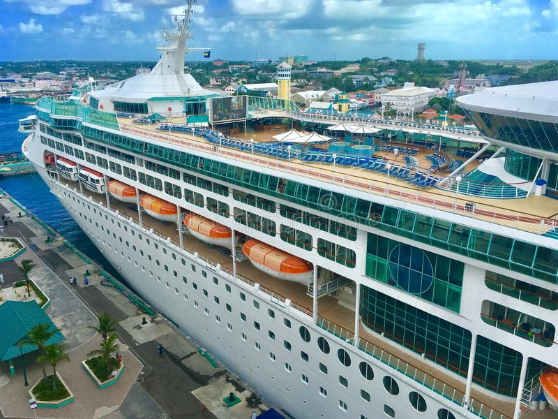 Grangeur of the Seas in Nassau royalty free stock photography