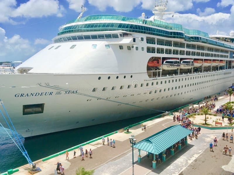 Grangeur van het Overzees in Nassau, de Bahamas stock foto