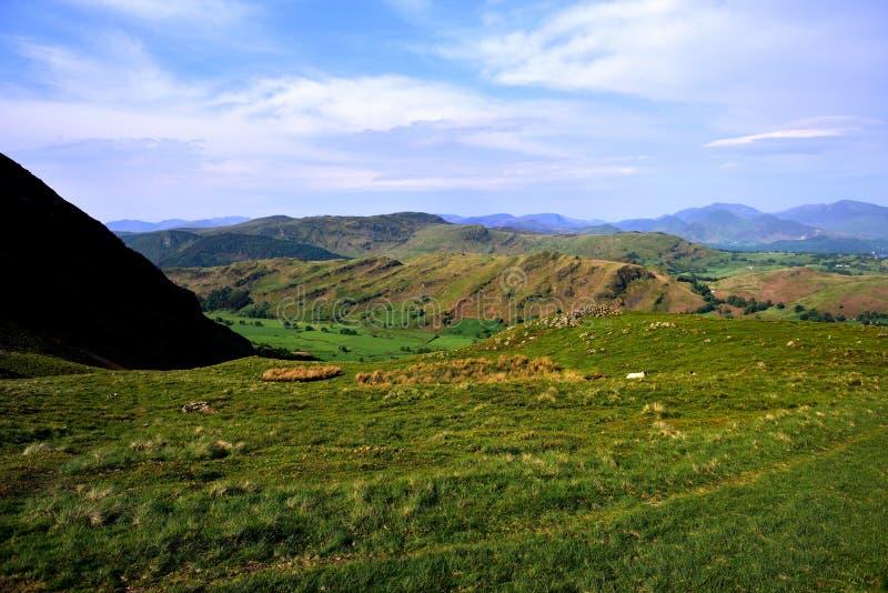 Grani linia St John w dolinie obraz royalty free