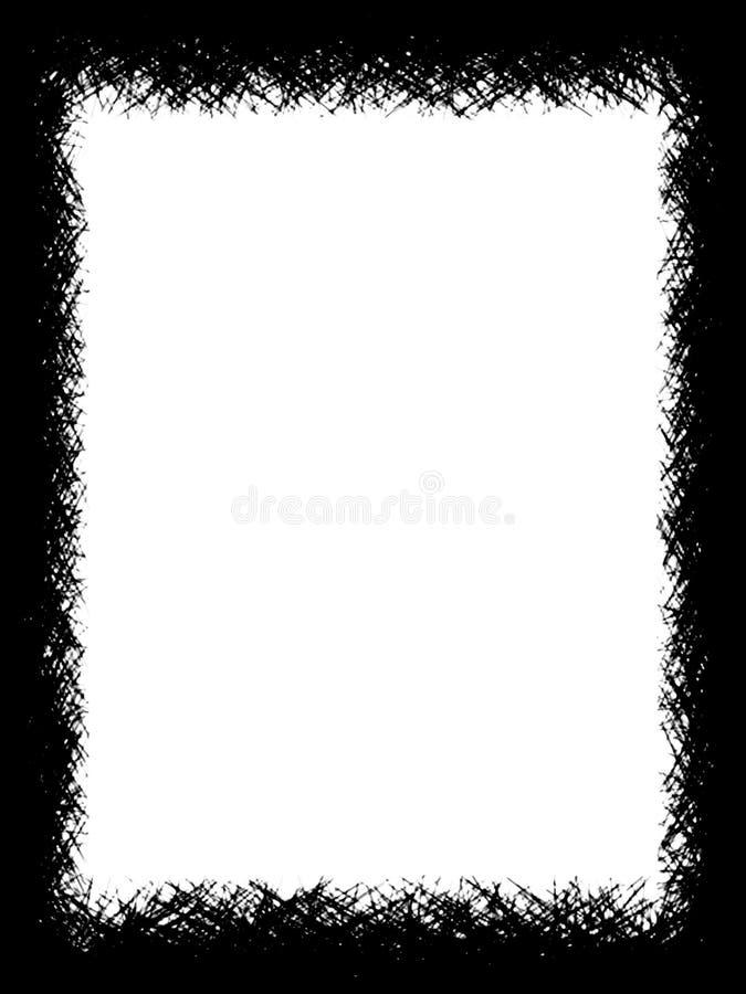 granica b ilustracja wektor