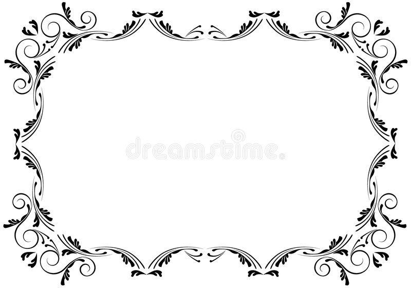 granica kąty royalty ilustracja