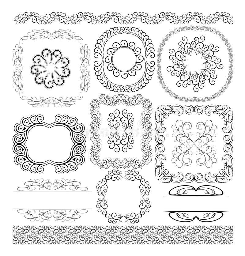Download Granica Ornamenty Zdjęcia Royalty Free - Obraz: 24720538