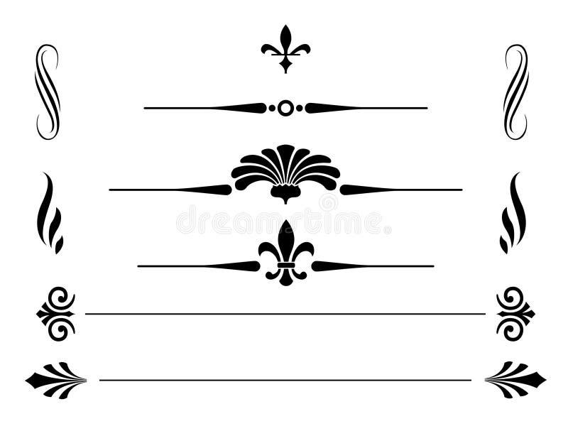 granicy royalty ilustracja