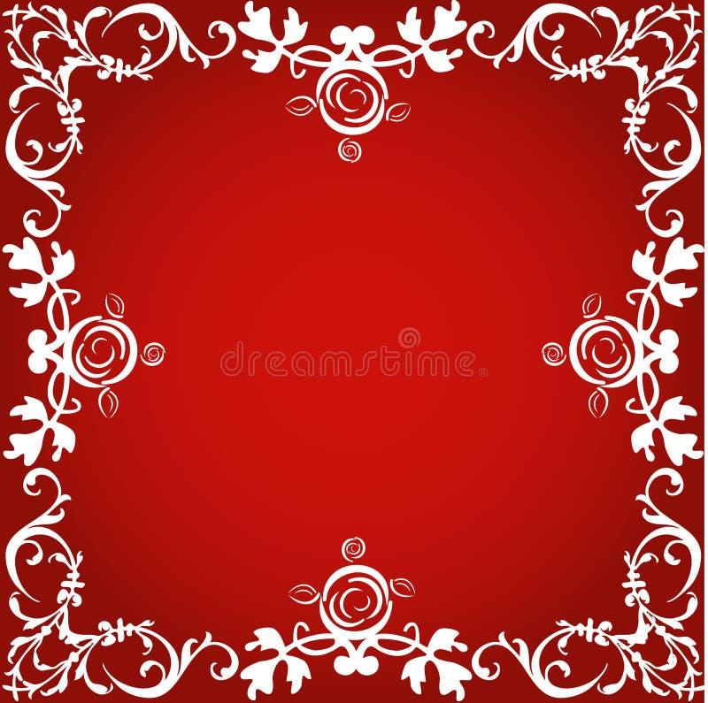 granicy dekoracyjny royalty ilustracja