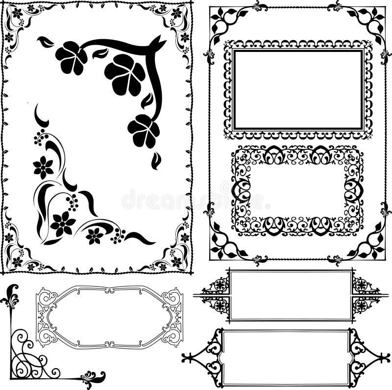 Download Granicy i ramy ilustracja wektor. Obraz złożonej z rama - 27183493