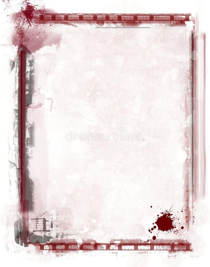 graniczny tła crunch ilustracja wektor