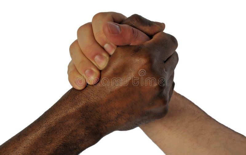 graniczy etniczną przyjaźń obraz stock