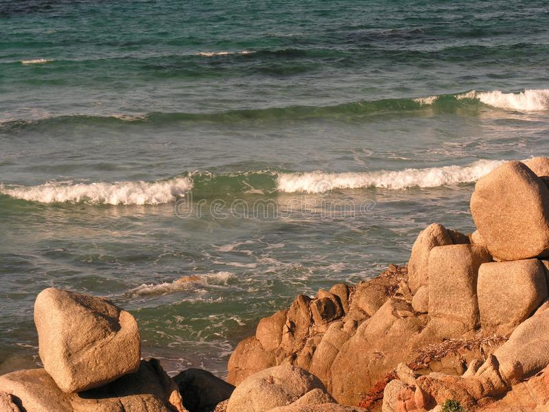 Graniet en zijn vormen c stock fotografie