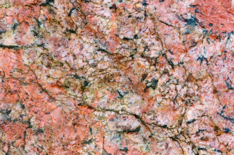 Granietachtergrond, steenpatroon royalty-vrije stock afbeelding