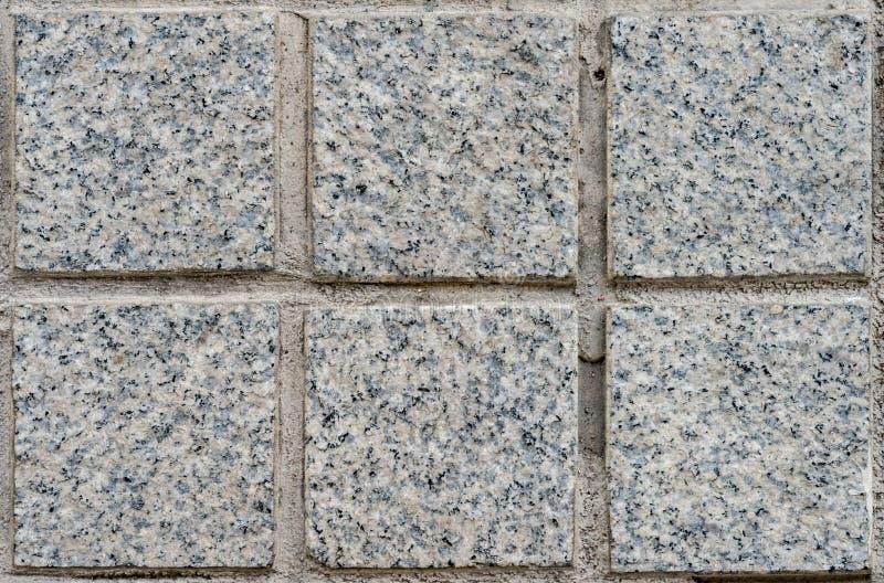 Granit deckt Muster mit Ziegeln stockbilder