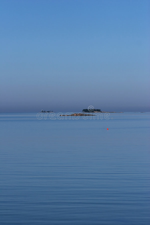 Granit islands near Hanko stock image