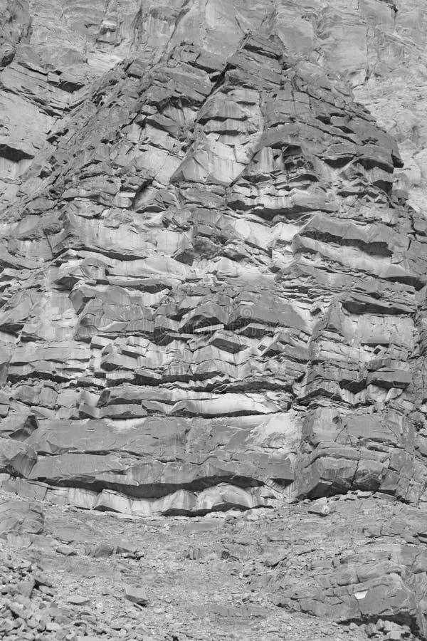Granit på Yosemite arkivbild