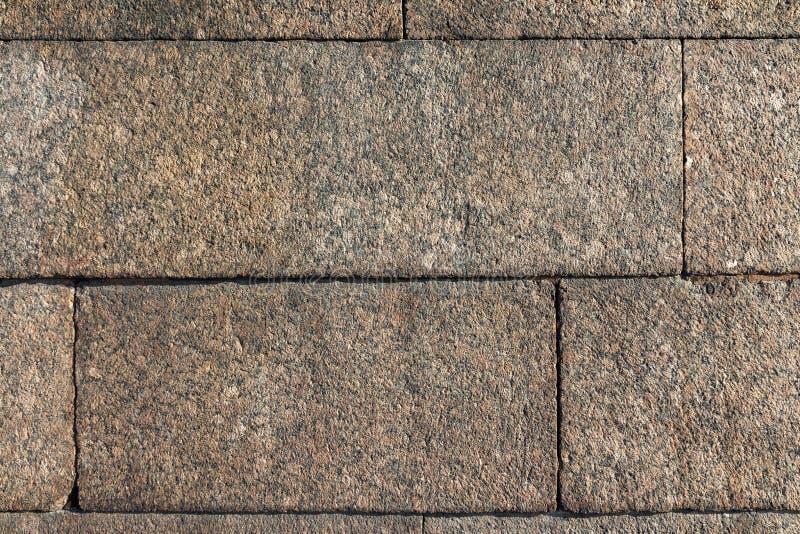 Granitblock-Wandbeschaffenheit stockbild