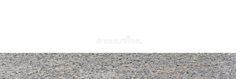 Granite background isolated on white background stock photos