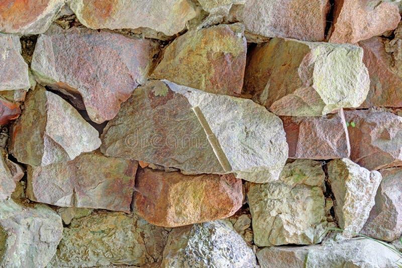 Granite blocks background stock photos