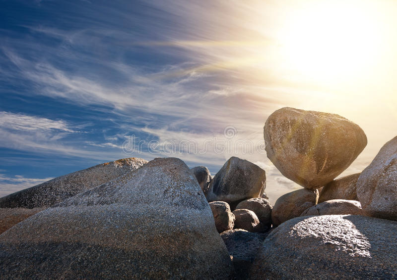 Download Granite boulders stock photo. Image of sunlight, landscape - 32176410