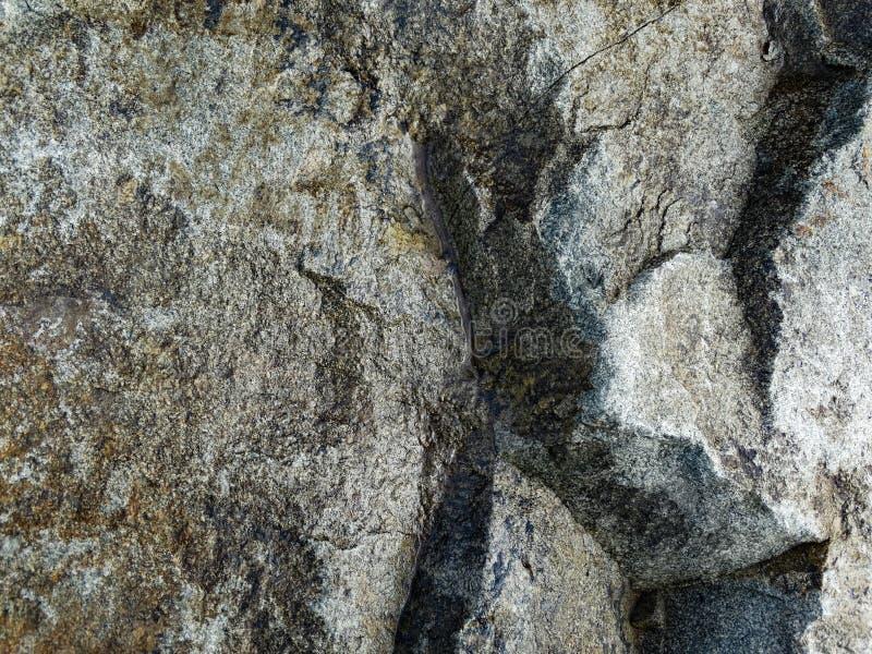 Granite Flat Rock Face. Closeup stock photography