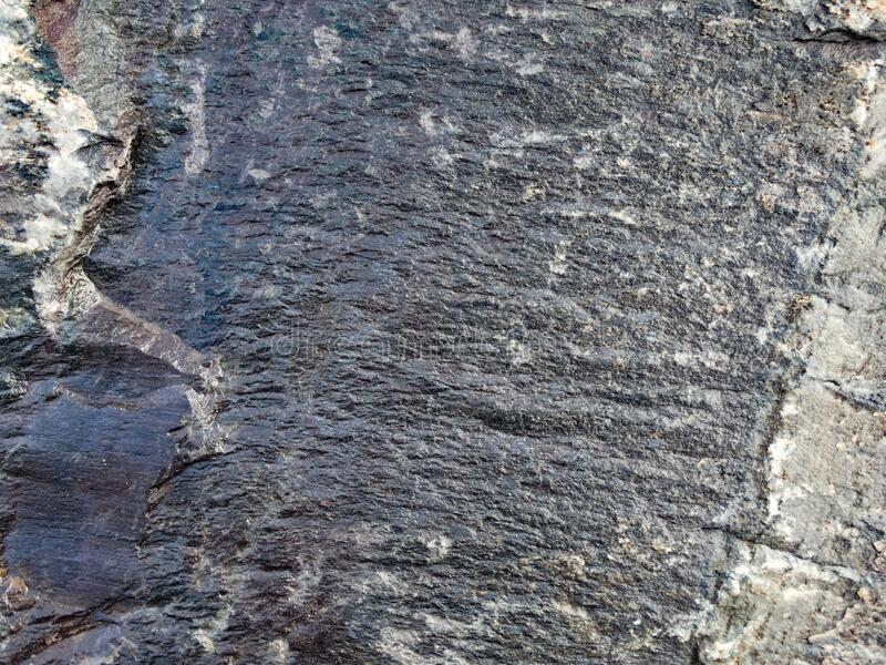 Granite Flat Rock Face. Closeup royalty free stock photo